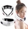 Electric Cervical Spine Therapy Instrument Cervical massager white one size