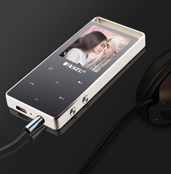 RUIZU High Quality Multifunction 8G  mp3/mp4 Player With Earphone grey