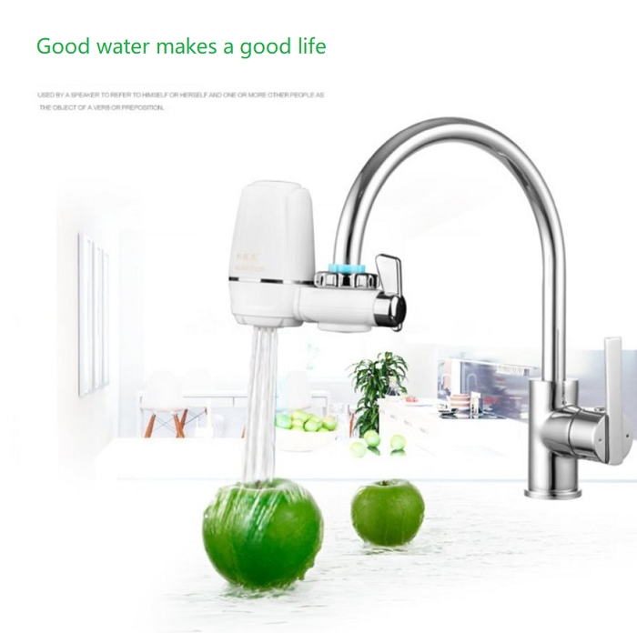 High Quality Tap Water Purifier Kitchen Water Filter Household Water Purifier white one size