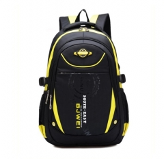 New Style Boy Girl Waterproof  Backpack Student Bag For 7-13 Years Old