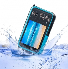 1080P HD Double Screen Digital Camera Waterproof DV Camera (Blue)