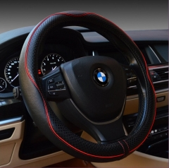 New Pattern High Quality  Leather Steering Wheel Cover