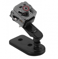 HD Mini 1080P  Video camera  Infrared Night Vision  Outdoor Movement Thumb Logger black S