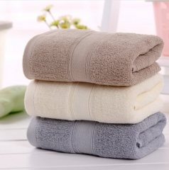 3 Pcs  Magic Cotton Face Towel Adult  Hotel Children 100% Cotton as picture L75cm* W35cm