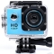 "2.0"" SJ4000 Waterproof Full HD 1080P DV Helmet Action Sports Camera Travel Kit blue one size"