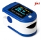 Finger Pulse Oximeter Finger Oxygen Meter With Pulse Rate Monitor blue