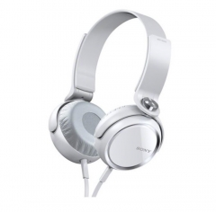 SONY New Headset  Universal Head heavy Mega Bass Game Headphone Sport  Folding white