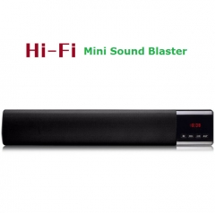 High Quality HIFI Subwoofer Wireless Bluetooth Speaker TV Home Theater Soundbar Audio Video Speakers black 10w one size