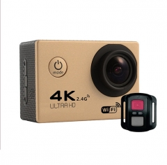Waterproof Ultra 4K SJ9000 Wifi 1080P HD Sports Action Camera DVR Cam Camcorder+Remote control gold one size