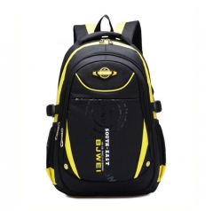 High Quality School Backpack Bag Primary School Boy Girl 8-9-10-11-12-13 Years Old yellow one size