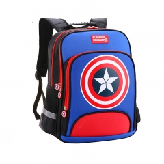 High Quality Student  Backpack Bag Primary School Boy 7-9-10-11-12-13 Years Old blue big size