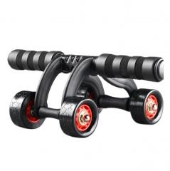 Healthy Abdominal Wheel Abdominal Muscle Wheel  Multi-function Three Wheel Fitness Apparatus