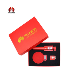 HUAWEI Bluetooth Audio Gift Suit (Selfie stick,Bluetooth Audio,Ring support) red one size