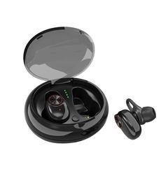 Bluetooth  Earphone  5.0 Bluetooth Earbuds Mini In-Ear TWS Noise Reduction Microphone black