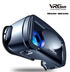 2019 New VR Glasses 3D Smartphone Special Intelligent Virtual Reality Glasses black VR glasses 21cm *11.3cm *13cm