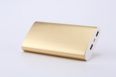 GEPOW Power Banks with DUAL USB Output For Backup Battery Charger gold 20,000 mah