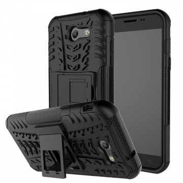 Armor case For Samsung Galaxy J7 prime & On7 2016 Shockproof protector with kickstand Holder Stand black Samsung J7 prime