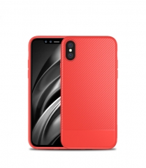 Cover For iPhone 8 Carbon Fiber Ultra Soft Silicone Case For iPhone 6 6S 6 6S Plus 7 7 Plus Case red for iphone 6 6s