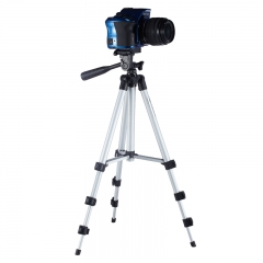 Meking Tripod Universal Flexible Aluminum Portable Camera Travel Tripod Stand + Carrying Bag as picture one size
