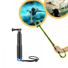 Meking Selfie Stick Waterproof Handheld Monopod Selfie Stick Pole for Gopro Hero 3 4 SJ4000 Xiaoyi as picture one size