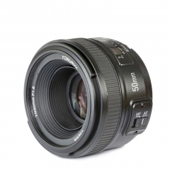 Yongnuo YN50mm F1.8 Large Aperture MF AF Auto Focus Lens for Nikon Camera as picture one size