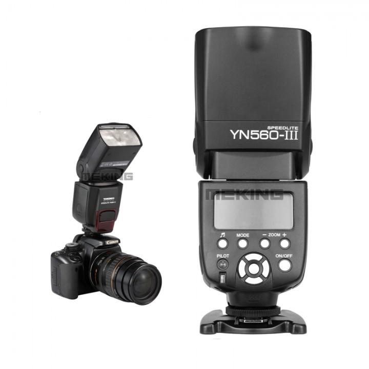 Yongnuo YN560 III Flash Speedlight for Canon Nikon Pentax Olympus Fit RF-602/603 Photo Video as picture