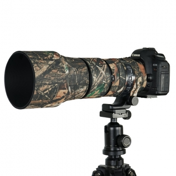 Sigma 150-600mm Contemporary Camouflage Rubber Camera Lens Protective Coat Cover as picture one size