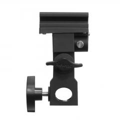 Flash Shoe B-type brackets adapter Speedlite Umbrella Holder Swivel Light Stand Bracket B as picture one size