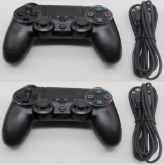 1PCS USB Wired Game Controller For PS4 PC Controller Joystick Gamepads black