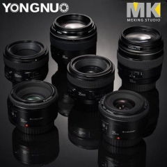 YONGNUO YN35mm 40mm 50mm 100mm EF AF/MF Prime Fixed Lens for Nikon Camera 1* YN35MM F2 Nikon one size