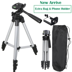 Universal Portable Tripod Stand For DSLR Camera Camcorder Vedio Phone as picture