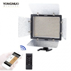 YONGNUO YN-300 III 3200K-5500K LED Studio Video Light for Canon Nikon as picture