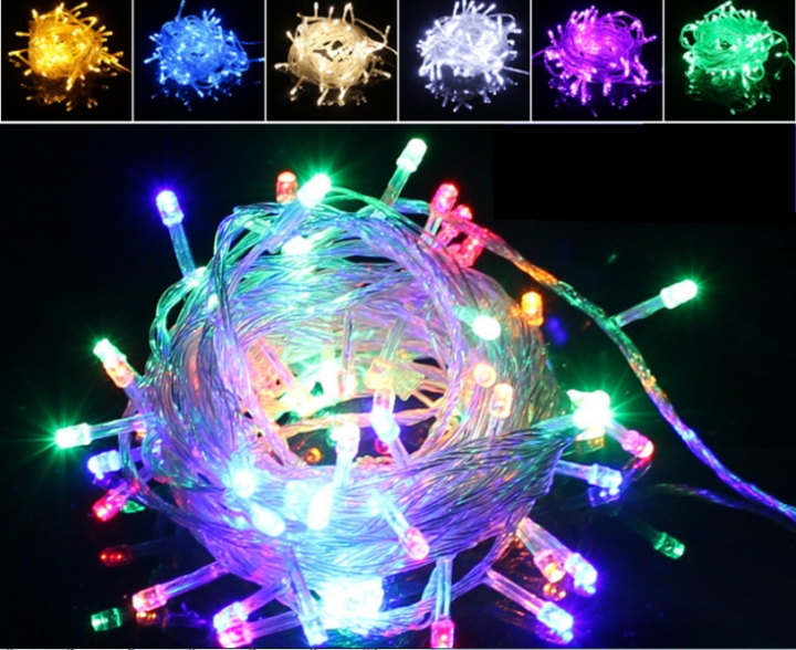 10M/ 20M/ 30M/ 50M/ 100M LED Christmas Wedding Xmas Party Decor Fairy String Light Lamp Warm White 10M According to your orders