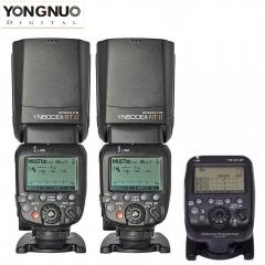Yongnuo YN600EX-RT II TTL Speedlite Flash Kit  + YN-E3-RT Transmitter For Canon Camera 1* diffuser optional