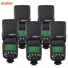 Godox V860II 2.4G HSS Li-on Battery Flash Speedlite for Canon Nikon Sony Olympus 1* V860II-Fuji flash one size