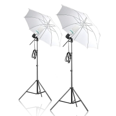 Selens Continuous photo Umbrella Lighting for Portrait Photography, Video Shooting,Translucent White as picture one size