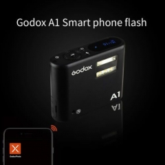 GODOX A1 2.4G LED Smartphone Wireless Flash Video Mobile Speedlite for iPhone 6s, 6s plus, 7, 7 plus as picture one size