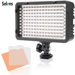 Selens 168 LED Dimmable Ultra High Power Panel Digital Camera SLR Cameras/ Camcorder Video Light as picture one size
