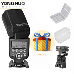 Yongnuo YN-560 III Wireless Trigger Speedlite Flash For Canon Nikon Camera + Gift as picture one size