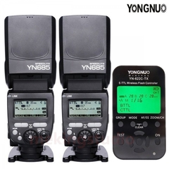 YONGNUO YN-622C-TX Transceiver For Canon + YN685 Wireless Speedlite Flash Kit 2*YN685+1*YN-622C-TX for Canon one size