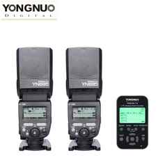 YONGNUO YN622N-TX Flash Controller For Nikon + YN685 TTL Flash Speedlite Camera 2*YN685+1*YN-622N-TX for Nikon one size