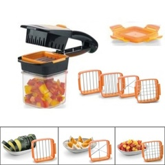 Multifunctional Set Quick Magic Cutter Vegetables Fruit Cutter as picture one size
