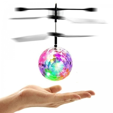 Induction Helicopter Ball Set-in Shinning LED Lights for Kids, Colorful Flying Toys for Kids One Color One Size