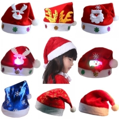 Plush Cap, High Standards, For Adults And Children's Christmas hat. Perfect For  Christmas hats 1 one