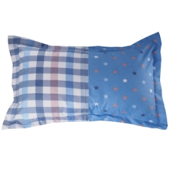 Two Piece Multicolor Pillow Case (New richcel cotton) Multicolor 48cm*76cm Multicolor 48cm*76cm