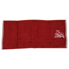 Soft Fluffy Hand Towels Red 20*60