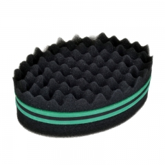 New Fashion Hair Braider Twist Sponge Fir Afro Dreadlocks Curl Brush Sponge Hair Braiders Tool green one size