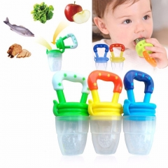 Feeding Pacifier Baby Fresh Food Fruits Soup Feeder Dummy Soother Weaning Nipple Random M