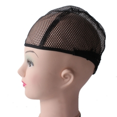 Cheap and hot tail without ears a wig net hat black one size