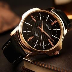 Yazolee Wrist Watch Men Top Brand Luxury Famous Male Quartz Watch YZL358 black black one size
